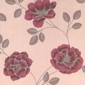 Flavia Red Wallpaper, , large