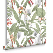 Botanical Powder Behang, , large