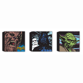 Star Wars Comic Set Of 3 30X30Cm Canvas, , large