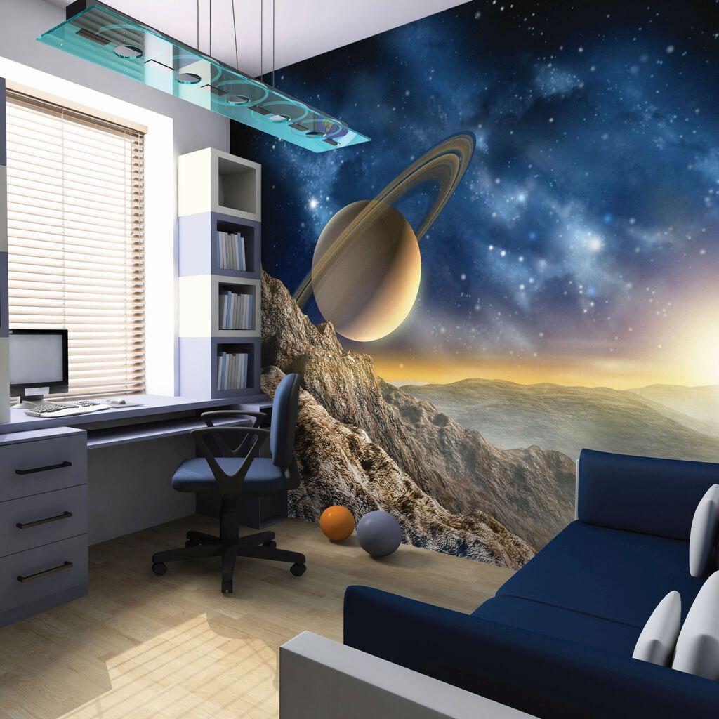 galaxy wall mural grahambrownuk