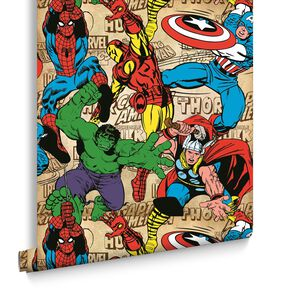 Marvel Comics Superheroes Wallpaper, , large