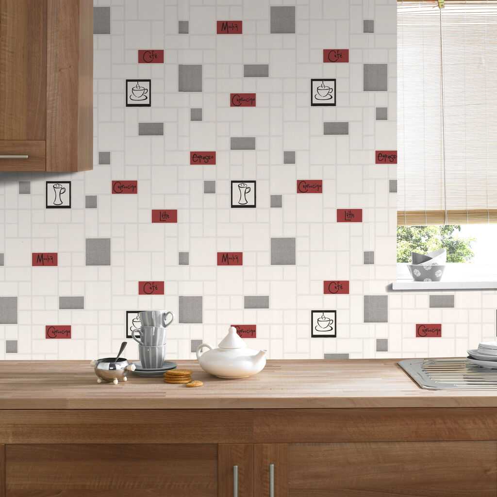 Cafe culture wallpaper graham brown for Kitchen wallpaper uk