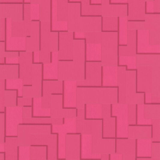 Checker Hot Pink Wallpaper, , large