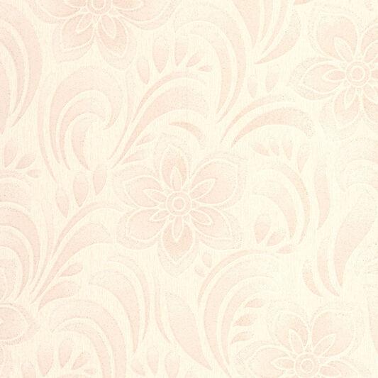 Jacquard Floral Cream Wallpaper Graham Brown - Brown and cream wallpaper