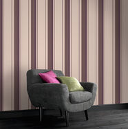 Rockfella Plum Wallpaper, , large
