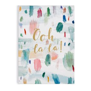 Ooh La La  Printed Canvas, , large