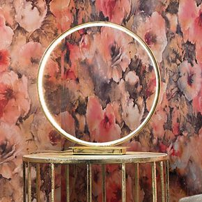 Halo Gold Table Lamp, , large