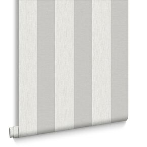 Ariadne White and Silver Wallpaper, , large
