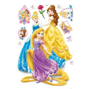 Sticker maxi Princesses, , large