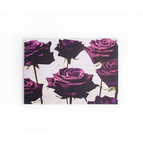Samt-Rosen Bedruckter Canvas, , large