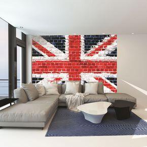 living room wall murals. Union Brick Wall Mural  Surface Murals Graham Brown