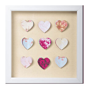 Hearts Corsage Framed Wall-art, , large