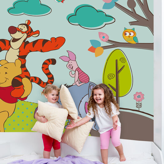 winnie the pooh mural grahambrownuk