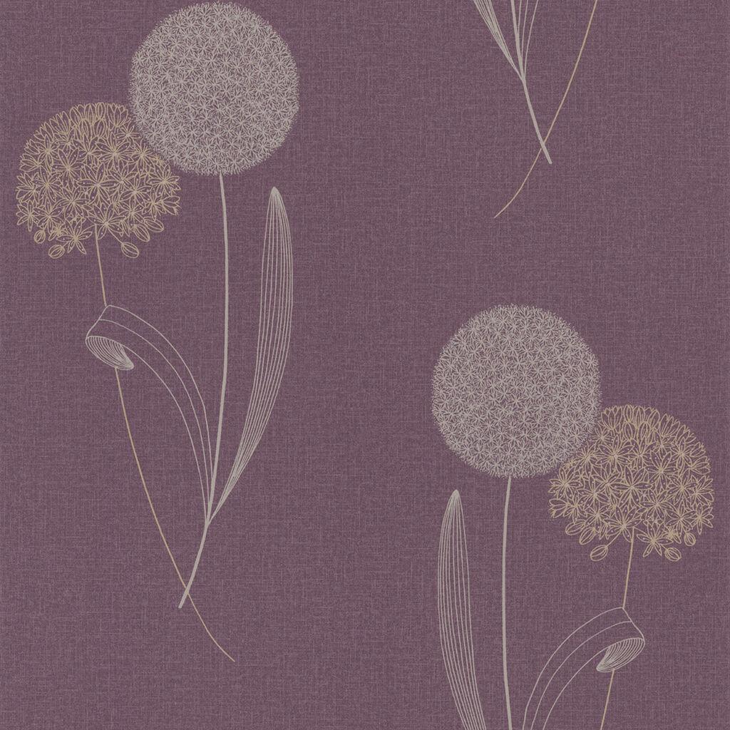 Alium Purple Wallpaper GrahamBrownUK
