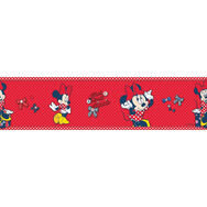 Minnie Mouse Medium Border Roll, , large