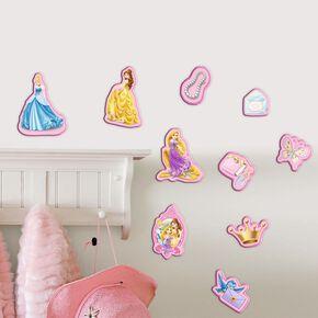 Prinzessin Mini-Schaumstoffelemente 10 St., , large