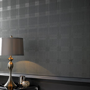 Tweed Grey Wallpaper, , large