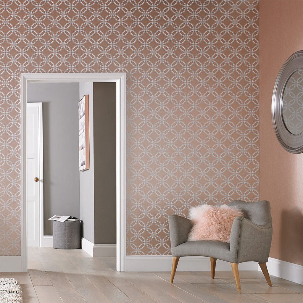 eternity rose gold wallpaper grahambrownuk. Black Bedroom Furniture Sets. Home Design Ideas