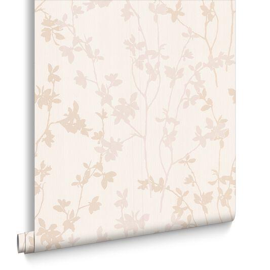 Nature White Wallpaper, , large