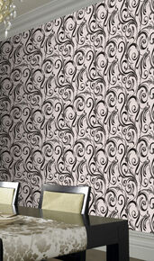 Swurly Wurly Domino Trix Wallpaper, , large