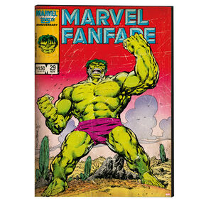 Hulk Printed Canvas, , large