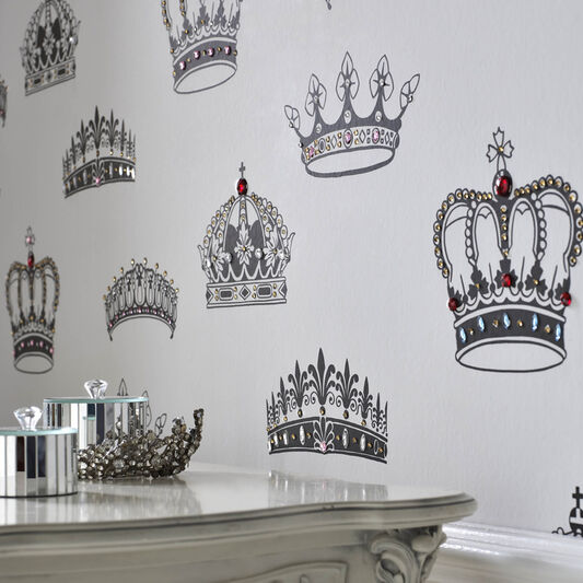 Crowns and Coronets Wallpaper, , large