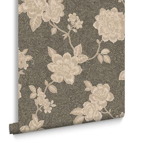 Boutique Brown Wallpaper, , large