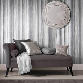 Large Chelsea Stripe Shadow Wallpaper