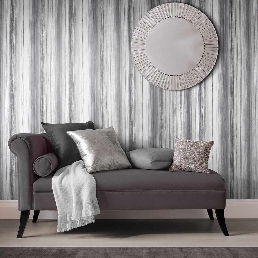 ... Large Chelsea Stripe Shadow Wallpaper, ...