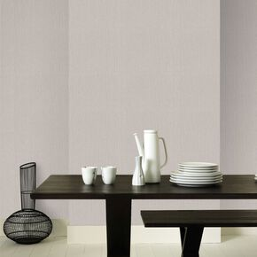Textile Taupe Wallpaper, , large