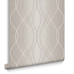 Manhattan Bronze Wallpaper, , large