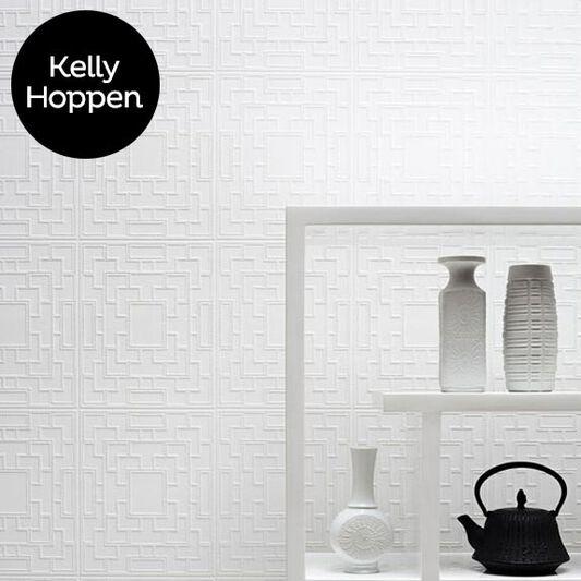 Screen Panel Paintable White Wallpaper, , large