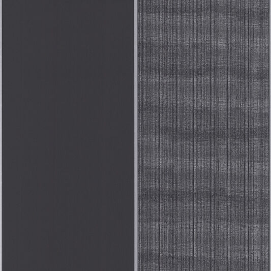 Bold Stripe Black and Charcoal Wallpaper, , large