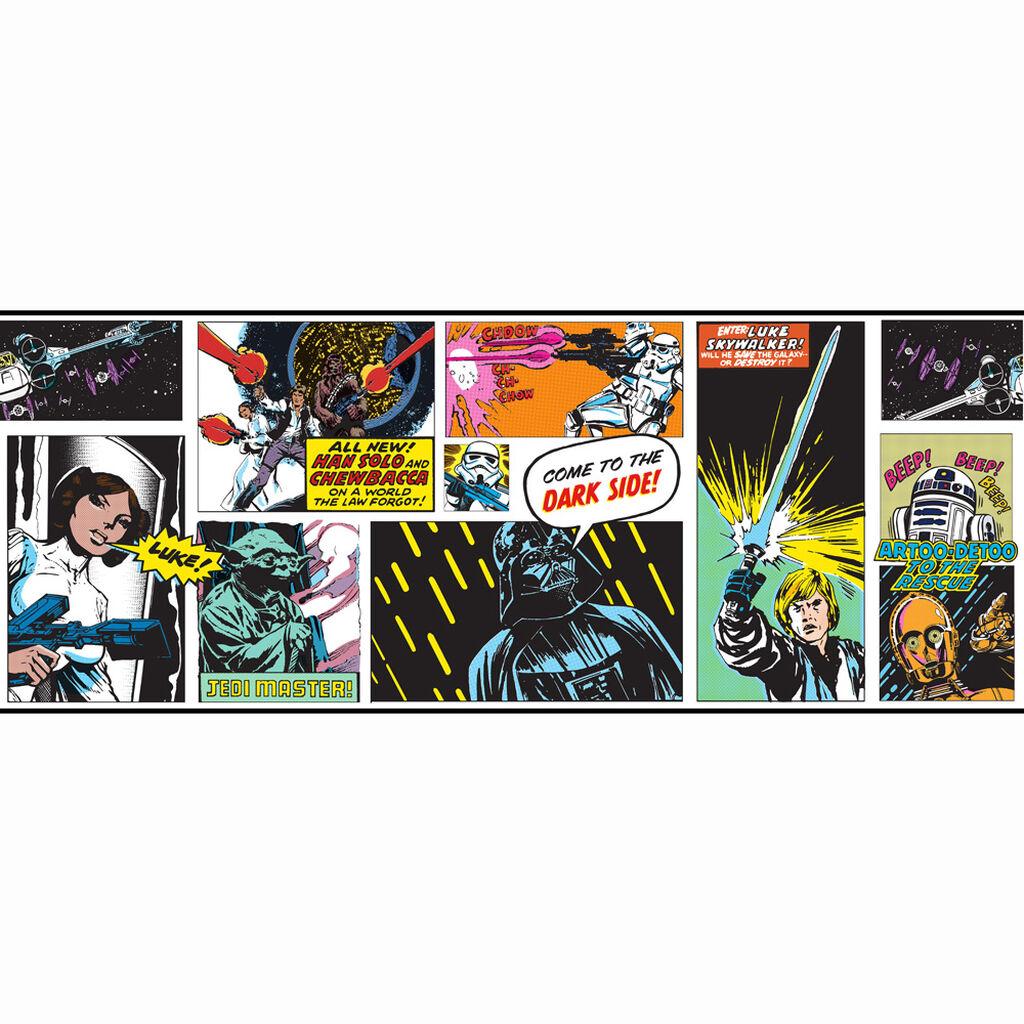 star wars cartoon frieze - grahambrownrow