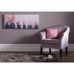 Early Morning Tweets Printed Canvas, , large