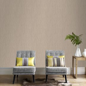 Crushed Silk Gold Wallpaper, , large