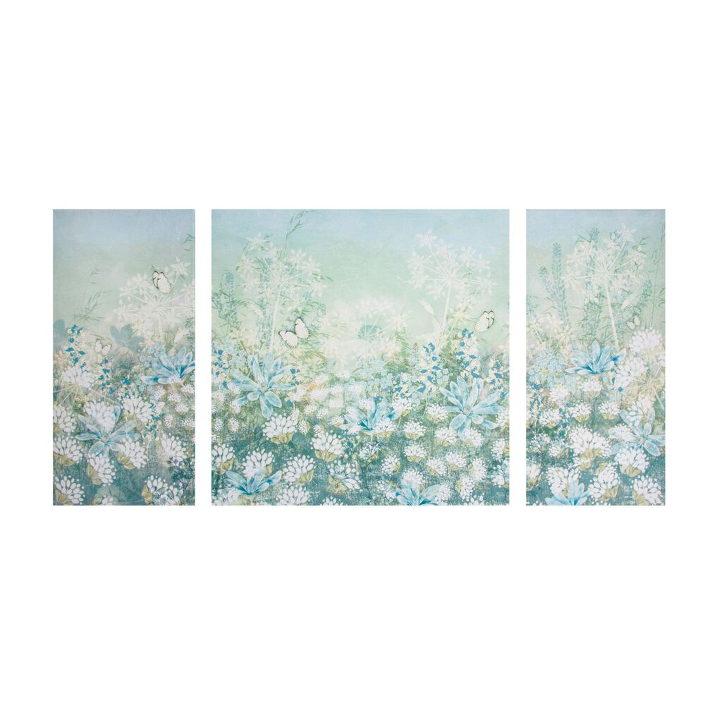 Spring Meadow Printed Canvas - GrahamBrownUK