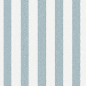 Ticking Stripe Skye Blue Wallpaper, , large