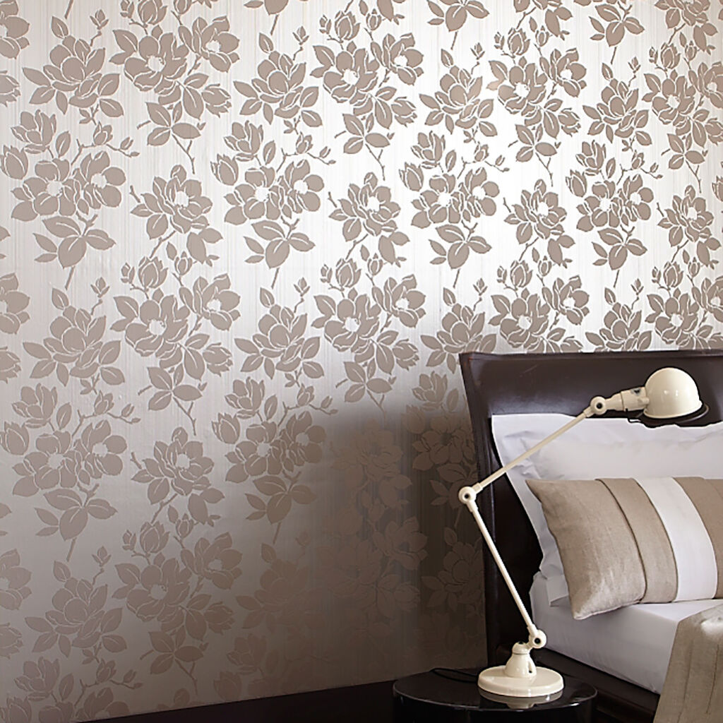 Rose Gold Taupe Wallpaper Kelly Hoppen Wallpaper