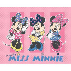 Minnie Mouse Wandbild, , large