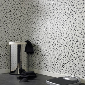 bathroom wall paper.  large Checkered Black And White Wallpaper Bathroom