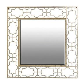Gold Fretwork Cut Out Mirror, , large