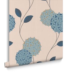 Pippa Petrol Wallpaper, , large