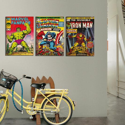 Iron Man Printed Canvas, , large