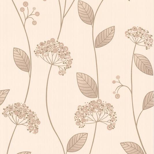 Claire Beige Wallpaper, , large
