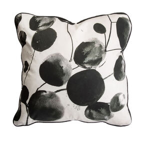 Bloom Honesty Floral Pillow, , large
