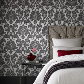 Majestic Grey Wallpaper, , large