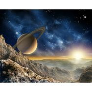 Galaxy Wall Mural, , large