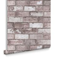 Grey Brick Wallpaper, , large