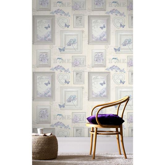 vintage frames wallpaper large